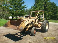 Case 530 Gas Loader Tractor Antique No Reserve Farmall International deere
