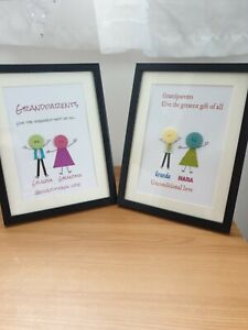 Personalised Button Art Pictures