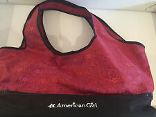American Girl  Doll Burgundy bag, Preowned!! Great condition!!! DENGEL