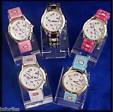 Reloj Watch Hello Kitty + Pendientes de regalo  --- VARIOS COLORES A ELEGIR ---