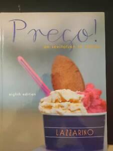 Prego! an invitation to Italian 8th ed. and Workbook