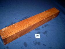 Nussbaum Kantel drechseln schreinern schnitzen  428 x 54 x 54 mm   Nr . 597