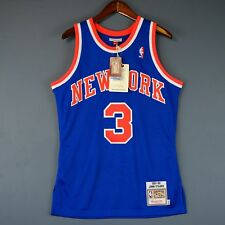 100% Authentic John Starks Mitchell & Ness 91 92 Knicks Jersey Size 40 M Mens