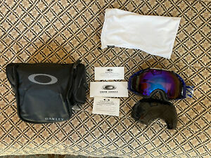 oakley airbrake goggles two lenses
