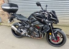 2017 Yamaha MT-10 in Black with 9055 Miles on the clock.
