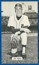J.D. McCarthy JIM PERRY post card (Detroit Tigers) ex+
