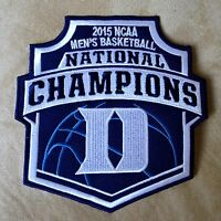 DUKE BLUE DEVILS Mens Basketball 2015 National Champions Team Logo Iron-on PATCH