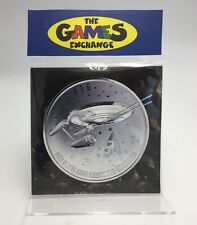 STAR TREK ENTERPRISE 999.9 FINE SILVER $20 DOLLAR COIN CANADIAN MINT