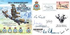 CC24 LOCKHEED HERCULES C-130 Copertura firmato 30 SQD. & artista David Shepherd RARO