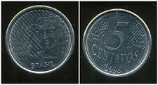 BRESIL  5 centavos 1996