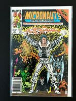 THE MICRONAUTS: THE NEW VOYAGES #16 MARVEL COMICS 1986 VF/NM NEWSSTAND EDITION