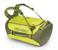 Osprey Transporter 40 Rucksack Reisetasche Tasche Sub Lime Gelb Grau Neu