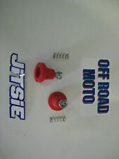 Trials Bike AJP / GRIMECA Brake & Clutch Pin/Boot Kits Rubbers. BOTH SIDES. RED