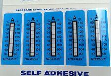 TMC 10 strips THERMAX 8Level Range A 37-65°C/99-149℉,Adhesive Temperature Labe