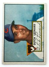 1952 Topps Baseball Card • Dutch Leonard • #110