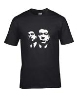 RONNIE AND REGGIE KRAY TWINS- Graphic Portrait Men's T-Shirt
