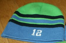 "Seattle Seahawks Subway 12""s Knit Beenie Hat Cap NFL Unisex 12"