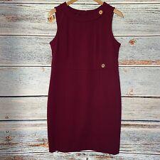 Talbots Women's Dress Burgundy Size 12P