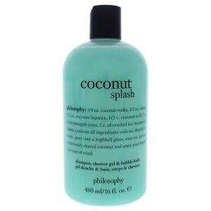 Coconut Splash by Philosophy for Unisex - 16 oz Shampoo, Shower Gel and Bubbl...