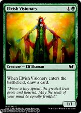 ELVISH VISIONARY Commander 2015 Magic MTG cards (GH)