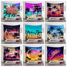 Tropical Island £¦ Palm Tree Tapestry Wall Hanging For Living Room Home Decor