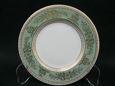"""Wedgwood Bone China~Columbia Gold~Sage Green~Bread and Butter Plate 6""""~Perfect"""