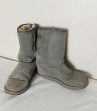 EMU Darlington Suede Sheepskin Grey Winter Boots UK 7