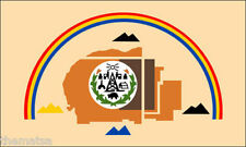 """NAVAJO NATION FLAG INDIAN TRIBE 5"""" HELMET CAR BUMPER STICKER DECAL MADE IN USA"""