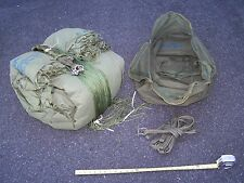 Parachute Canopy 34 Ft Cargo G14 Military Army w Cut Line f Tent Tipi Cover Camo