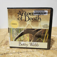 The Anteater of Death Betty Webb 8 Cd Unabridged Audiobook Free Us Shipping