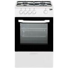 Cocina gas natural Beko CSG42010DWN 4 fuegos blanco