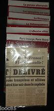 La seconde guerre mondiale - 39/45 - trésor du patrimoine - 6 volumes + journal