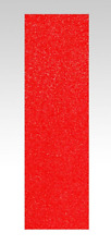 "Skateboard Griptape 9"" Red / Rotes Grip Für Skateboard, Oldschool, Cruiser Decks"