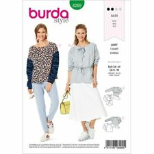 Burda Style Pattern 6269 Misses' Sweatshirts in Two Styles, Designed for Stretch