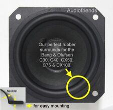 Bang & Olufsen C30, C40, CX50, C75, CX100 > 2x RUBBER surrounds + 1x glue
