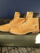 WOMENS TIMBERLAND BOOTS UK 6 WHEAT SUEDE IMMACULATE CONDITION