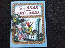 Ali Baba and the Forty Theives Award classic Vintage fairy tale illustrated Rare