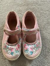 startrite Girls Floral Shoes Size 8.5G