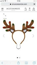 Accessorize Dogs Christmas Reindeer Antlers Sz M