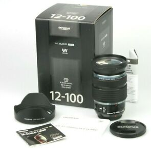 Boxed mint OLYMPUS M.Zuiko ED 12-100mm f/4 IS PRO Lens M4/3 Micro Four Thirds