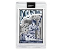 Topps PROJECT 2020 Card #95 - 1984 Don Mattingly by Mister Cartoon - IN HAND