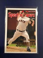 2005 Topps #726 JASON SCHMIDT Giants Sporting News ALL STARS Nice Look
