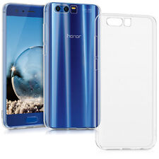 COVER CUSTODIA PER HUAWEI HONOR 9 MORBIDA TRASPARENTE SOTTILE ULTRA SLIM