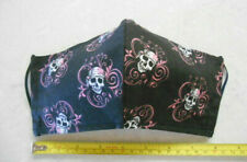 Handmade Fancy Female Pirate Skull Citizen Style Cotton Face Mask Adult Size USA
