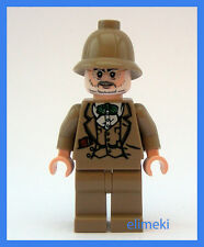 Lego Indiana Jones - Doctor Henry Jones Sr - Minifigure - NEW - Minifigure