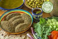 Organic Zaatar Spice Palestinian 1st Class Ground Thyme Mix Zatar Za'tar Zataar