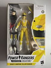 Hasbro Power Rangers Lightning Collection: Mighty Morphin Yellow Ranger New
