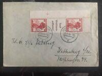 1935 Dusseldorf Germany Cover To Hamburg