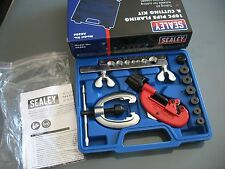 BRAND NEW SEALEY BRAKE PIPE KIT    FLARING AND CUTTING TOOL     AK506