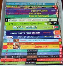 LOT 19 CHILDREN BOOKS Bruce Coville GORDON KORMAN Clements GRIFFITHS Level 4